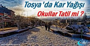 Yarın Tosya#039;da Okullar Tatil...