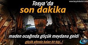Tosya#039;da Maden Ocağında Göçük...