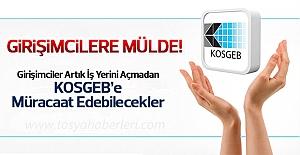 Kosgeb Girişimcilik Destek Programı'nda Yeni Düzenleme