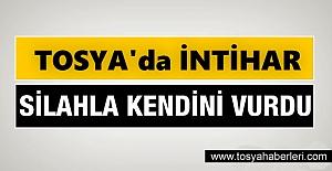 Tosya'da bir kişi tüfekle İntihar etti