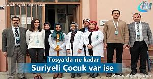 Tosya'da ikamet eden Suriyeli çocuklar aşılanacak