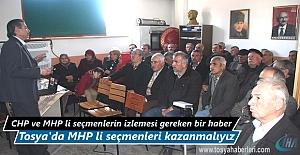 Tosya'da Referandum 'da Hayır diyecek MHP'li seçmenleri kazanmalıyız