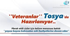 Veteranlar Turnuva için Tosya'da Hazırlanıyor