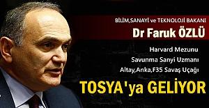 Bilim,Sanayi ve Teknoloji Bakanı Tosya'ya Geliyor