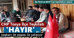 CHP Tosya ilçe teşkilatı Tosyada...
