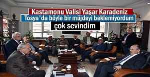KASTAMONU VALİSİ TOSYA ZİYARETİNDE...