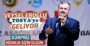 ORMAN VE SU İŞLERİ BAKANI PROF. DR. VEYSEL EROĞLU, TOSYA'DA