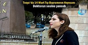 Tosyada 14 Mart Tıp Bayramı Etkinlikleri...