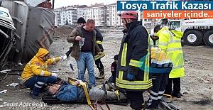 Tosyada Trafik kazasında 2 kişi...