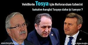 AK Parti Kastamonu Milletvekillerinin Tosya tahmini ne çıkacak