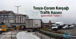Tosya- Çorum Kavşağı Trafik Kazası