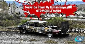 Tosya#039;da Oy Kullanmaya giden İmamın...