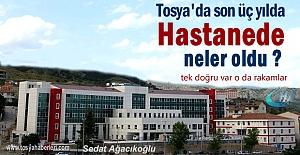 Tosya Devlet Hastanesinde son 3 yılın çarpıcı rakamları
