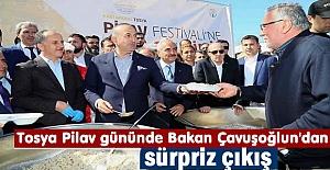 Tosya Pilav Gününe Bakan Çavuşoğlu...