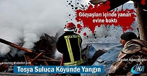 Tosya-Suluca Köyünde Yangın ( GÖRÜNTÜLÜ HABER )