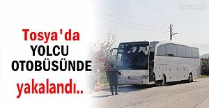 Tosya#039;ya gelen Otobüste Uyuşturucu...