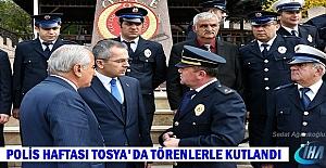 Tosya'da Polis Haftası Törenle Kutlandı