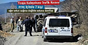 Tosyada Trafik Kazasında 7 kişi...