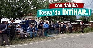 Tosya#039;da bir kişi Silahla İntihar...
