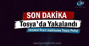 Tosya'da Mahkum Asayiş Ekipleri tarafından yakalandı