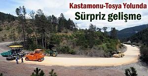 Tosya - Kastamonu yolunda Sürpriz...