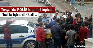 Tosya Polisi Kural Tanımaz Motorculara...