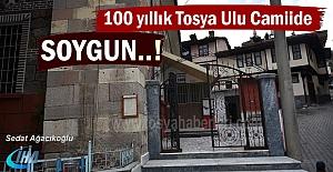 100 Yıllık Tosya Ulu Camide Soygun...