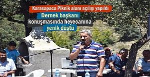 Karasapaca Köyü Piknik alanı Açılışı...