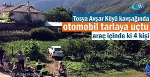 Tosya Avşar Köyü mevkiinde Otomobil...