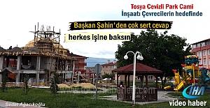 Tosya Cevizli Parkda yapılan Cami...