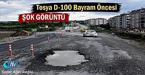 Tosya D-100 Karayolunda Bayram Öncesi...