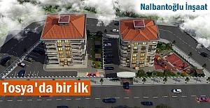 Tosya'da İnşaat Sektöründe bir ilk yaşanıyor
