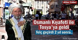 Osmanlı Kıyafeti ile 81 il gezdi...