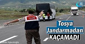 Tosya İlçe Jandarma ekipleri kaçan...