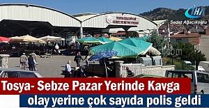 Tosya Sebze Pazarında Kavga Meydana...