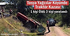 Tosya Yağcılar Köyünde Traktör...