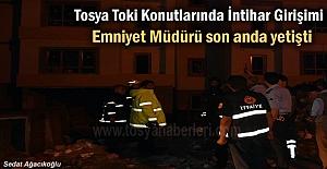 Tosya'da İntihar Etmek İsteyen şahsı Emniyet Müdürü İkna etti
