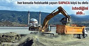 Tosyada Sapaca köyüne Alt Geçit...