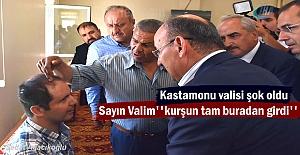 Vali Yaşar Karadeniz Gazi Fırat Zorba'yı ziyaret etti