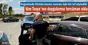 Tosya'da Otobüs Kazası sonrası vatandaşın isyanı