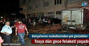 Tosya dün gece felaketi yaşadı (...