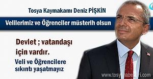 Tosya Kaymakamı Deniz Pişkin 2017-2018...