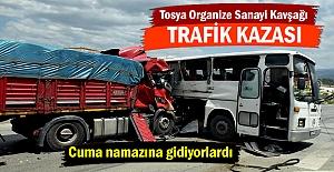 Tosya Organize Sanayi Kavşağı Trafik...