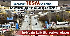 Dev Şirket Tosya'da Bölgenin En Büyük Dağıtım Merkezini Kuruyor