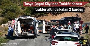 Tosya-Çepni Köyü yolunda meydana...