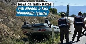 Tosya#039;da Trafik Kazasında aynı...