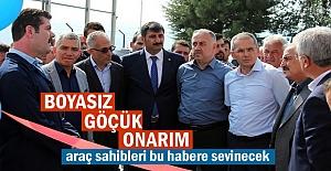 Tosya'da ''Boyasız Göçük Onarım Eğitim'' Kursu açıldı