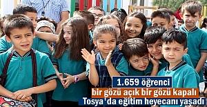 Yeni Eğitim Öğretim Yılında Tosya'da Kaç Öğrenci Ders Başı yapacak