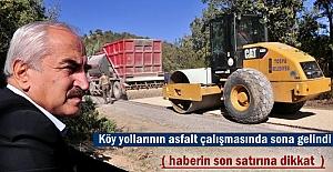 Başkan Kazım Şahin Köy Yolları...