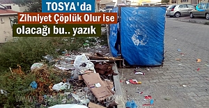 Cumhuriyet Mahallesindeki Çöp sorunu...